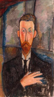 Portrait of Paul Alexandre before a window - Amedeo Modigliani