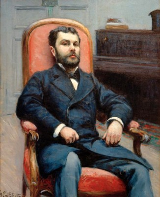 Portrait of Richard Gallo - Gustave Caillebotte