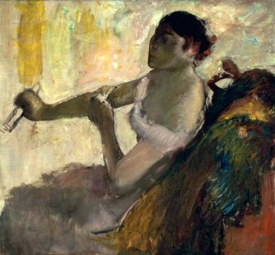 Portrait of Rose Caron - Edgar Degas