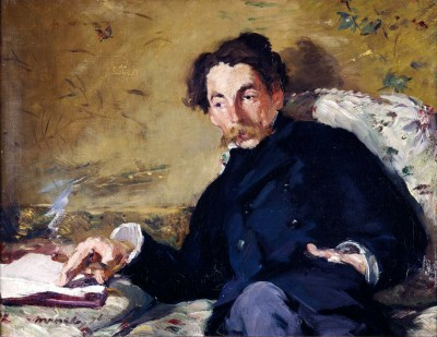 Portrait of Stephane Mallarme - Édouard Manet