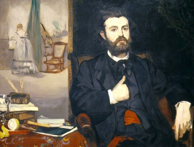 Portrait of the poet Zacharie Astruc - Édouard Manet