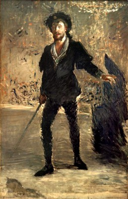 Portrait of the singer Jean-Baptiste Faure - Édouard Manet