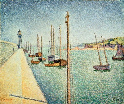 Portrieux in Brittany - Paul Signac