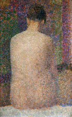 Poseuse de dos - Georges-Pierre Seurat