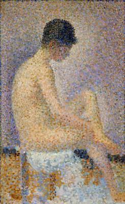 Poseuse de profil - Georges-Pierre Seurat
