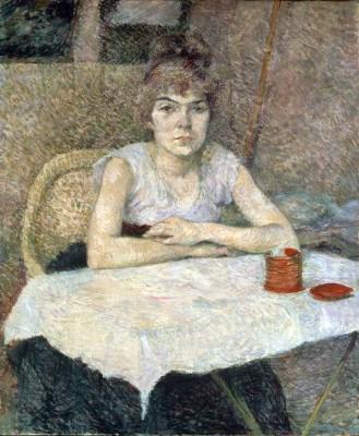 Poudre de riz - Henri de Toulouse-Lautrec
