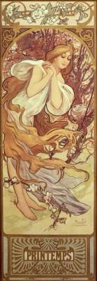 Printemps (2) - Alfons Mucha