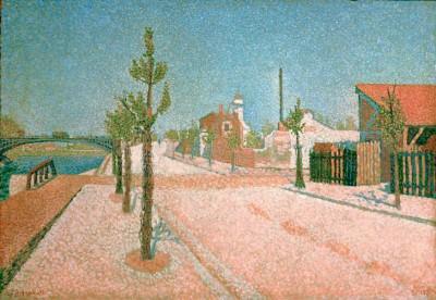 Quai de Clichy - Paul Signac