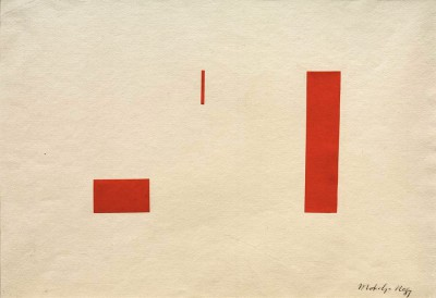 Red collage - László Moholy-Nagy