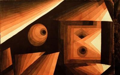 Red Gradation - Paul Klee