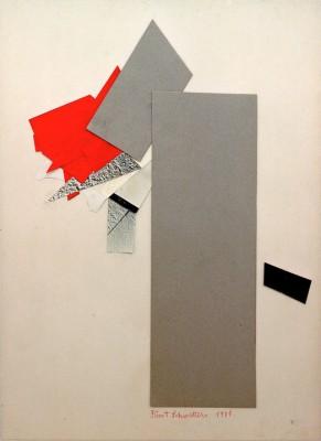 Red Gray Black - Kurt Schwitters