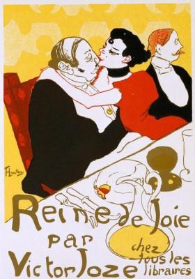 Reine de Joie - Henri de Toulouse-Lautrec