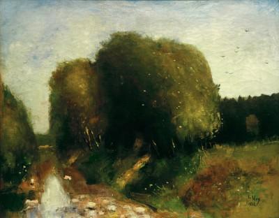 River landscape - Lesser Ury