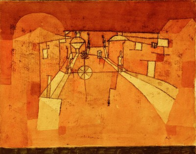 Road in the Camp - Paul Klee