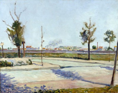 Road to Gennevilliers - Paul Signac
