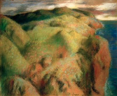 Rocky Coast - Edgar Degas