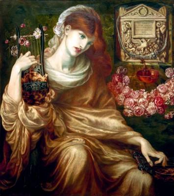 Roman Widow (Dîs Manibus) - Dante Gabriel Rossetti
