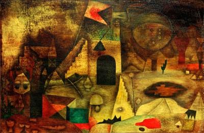 Romantischer Park - Paul Klee