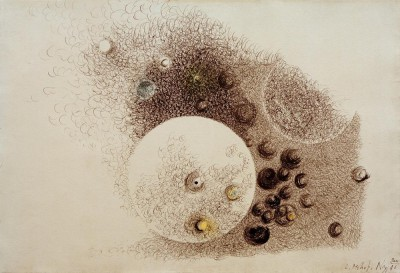 Room composition - László Moholy-Nagy