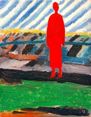 Rote Figur - Kazimierz Malewicz