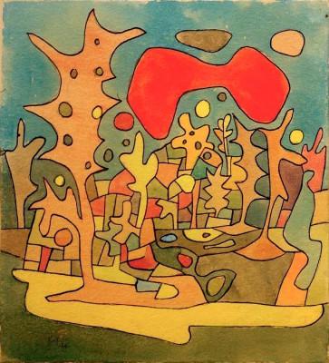 Rote Wolke - Paul Klee