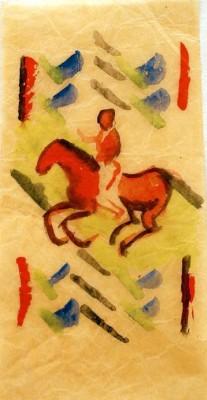 Roter Reiter - August Macke