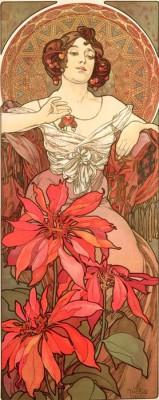 Rubin - Die Edelsteine (3) - Alfons Mucha