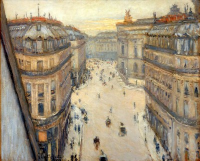 Rue Halévy, View from the Sixth Floor - Gustave Caillebotte