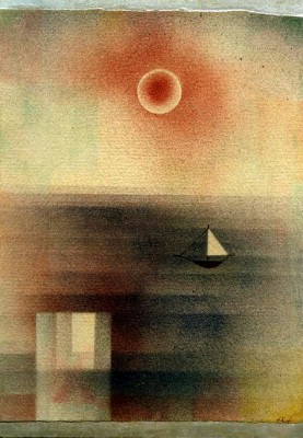 Ruhige See bei Z… - Paul Klee