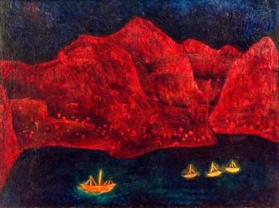 Südliche Küste abends - Paul Klee