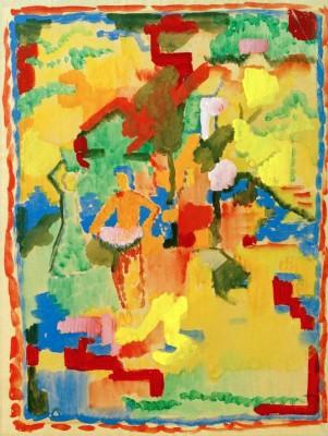 Südlischer Garten - August Macke