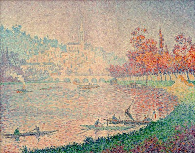 Saint-Cloud - Paul Signac