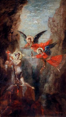 Saint in the desert - Gustave Moreau