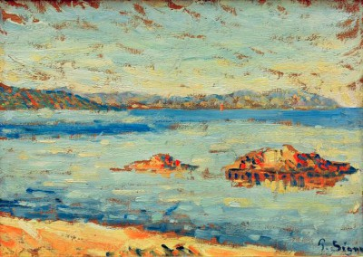 Saint-Tropez, calm - Paul Signac