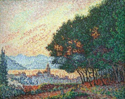 Saint-Tropez, Town and Pines - Paul Signac