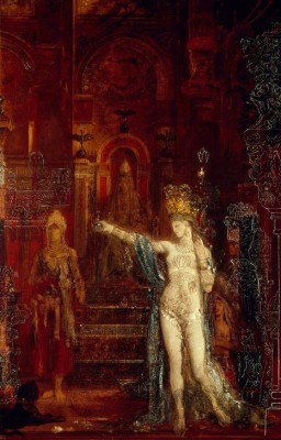 Salome dancing - Gustave Moreau