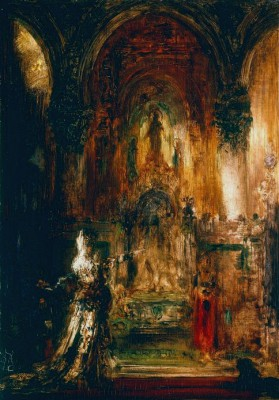 Salome dancing before Herod - Gustave Moreau