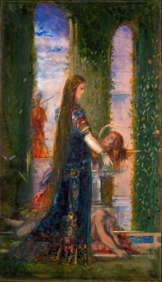 Salome in the garden - Gustave Moreau