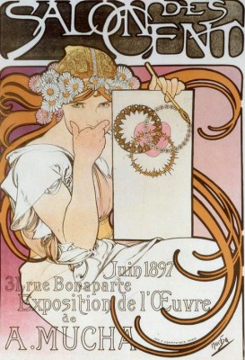 Salon des Cent (2) - Alfons Mucha