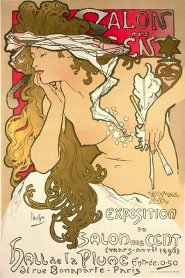 Salon des Cent - Alfons Mucha