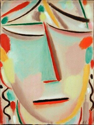 Salvation Face Retreat - Aleksiej Jawlensky
