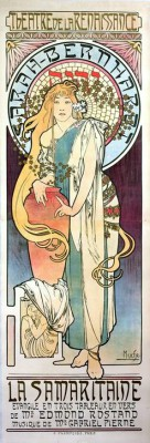 Sarah Bernhardt -  La Samaritaine - Alfons Mucha