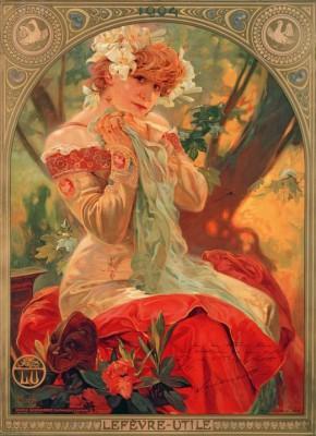 Sarah Bernhardt (La Princesse Lointaine) - Alfons Mucha
