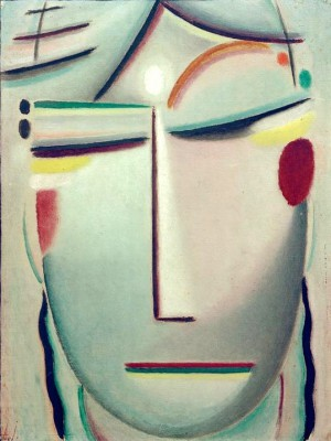 Saviors face Resting light - Aleksiej Jawlensky
