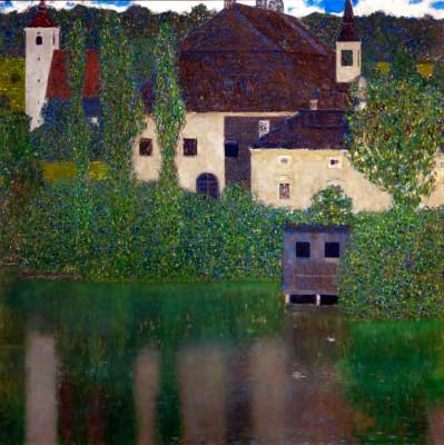 SCHLOSS KAMMER AM ATTERSEE - Gustav Klimt
