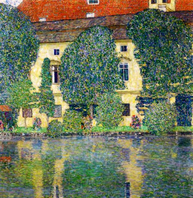 SCHLOSS KAMMER ON THE ATTERSEE III - Gustav Klimt