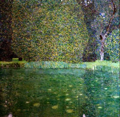 SCHLOSSTEICH IN KAMMER AM ATTERSEE - Gustav Klimt