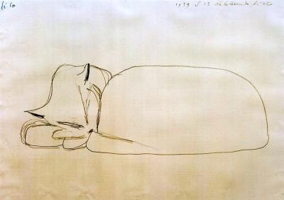 Schlumernde Katze - Paul Klee
