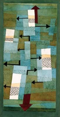 Schwankendes Gleichgewicht - Paul Klee