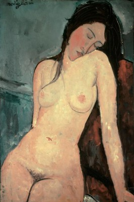 Seated nude (female) - Amedeo Modigliani